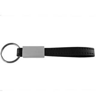 Leather Strap Key Tag