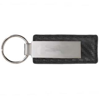 Carbon Fiber Big Logo Key Tag