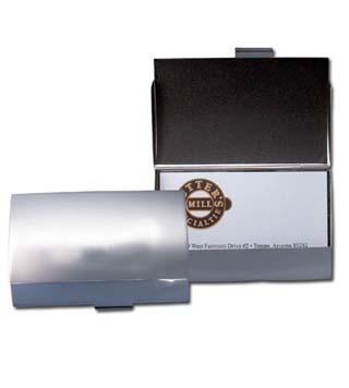 Dual Texture Business Card Holder