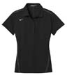 452885A - Ladies' Dri-Fit Sport Swoosh Pique Polo