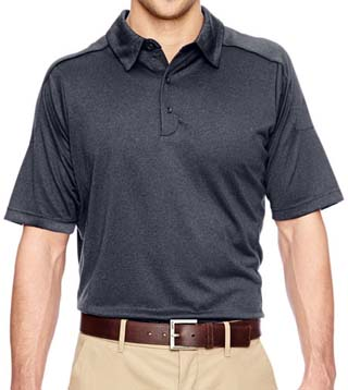 Men's Fluid Mélange Polo