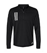 A482 - 3-Stripes Double Knit 1/4 Zip Pullover