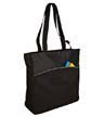 B1510 - Two-Tone Colorblock Tote
