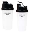 BLK-ICO-294 - 20 Oz. Plastic Fitness Shaker