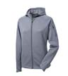L248 - Ladies' Tech Fleece Full-Zip Hooded Jacket