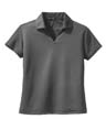 L469A - Ladies' Dri-Mesh V-Neck Sport Shirt