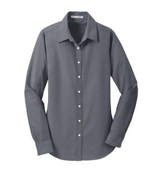 L658 - Ladies' Tektronix Tradeshow Shirt – color resembles dark grey in person
