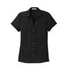 L662 - Ladies' Textured Camp Shirt